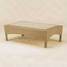 <strong>Woodard</strong> Trinidad Wicker Coffee Table