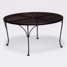 <strong>Woodard</strong> Mesh Top Round Chat Dining Table
