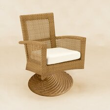 <strong>Woodard</strong> Trinidad Wicker Lounge Chair  with Cushion