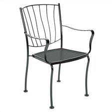 <strong>Woodard</strong> Aurora Stacking Dining Arm Chair