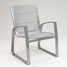 <strong>Woodard</strong> Wyatt Mesh Dining Arm Chair