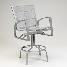 Wyatt Mesh Swivel Bar Stool