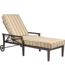 Andover Chaise Lounge with Cushion