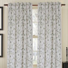 Bedazzle Rod Pocket Drape Single Panel