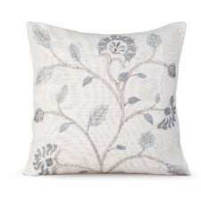 Foliage Burlap Pillow