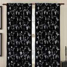 Captivate Silk Rod Pocket Drape Single Panel