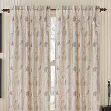 Cutesy Silk Rod Pocket Drape Single Panel