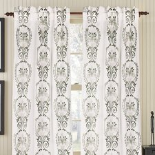 <strong>Gracious Living</strong> Julianne Linen Rod Pocket Drape Single Panel