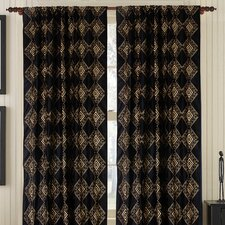 Ecstatic Silk Rod Pocket Drape Single Panel