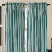 Plain Silk Rod Pocket Drape Single Panel