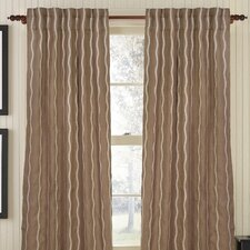 Infinite Burlap Rod Pocket Drape Single Panel