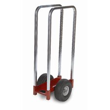 Heavy Duty Caddy Channel with 2 Removable Uprights, Airless Wheels