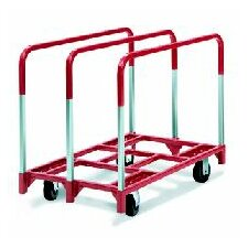 "Panel Mover 5"" Quiet Poly Casters, 2 Fixed and 2 Swivel, 3 Standard Uprights"