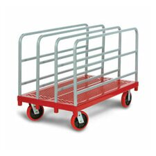 <strong>Raymond Products</strong> Heavy Duty Panel / Sheet Mover Quiet Poly Casters, All Swivel, 4 Uprights