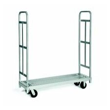 Narrow Tall End Truck, Phenolic Casters, All Swivel, 2 Uprights