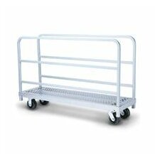 Narrow Panel/Sheet Mover and Phenolic Casters Table Dolly
