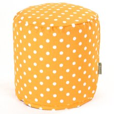 Ikat Dot Small Pouf