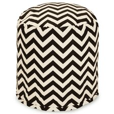 Chevron Small Pouf