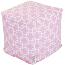 <strong>Majestic Home Products</strong> Cotton Cube Ottoman