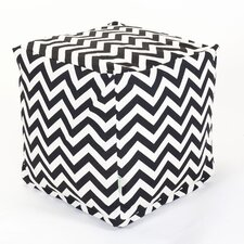 <strong>Majestic Home Products</strong> Zig Zag Cube Ottoman