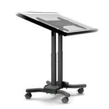 Adjustable Ergonomic Mobile Touchscreen Cart