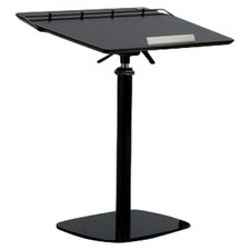"24"" W Fully Adjustable Ergonomic Laptop Computer Desk"