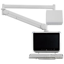 Long Reach LCD Monitor Arm with Wall Box / Monitor Back Cable Cover