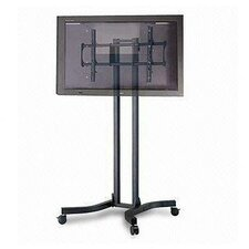 "Adjustable Ergonomic Mobile TV Cart for 32"" - 56"""