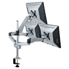 3 Screen Monitor Desk Mount
