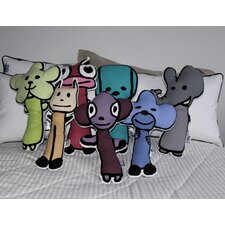 Figure Pillow 7 Piece Set
