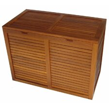 <strong>Aqua Teak</strong> Spa Teak 2 Section Hamper