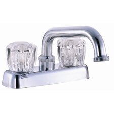 Double Handle Laundry Tub Faucet Trim