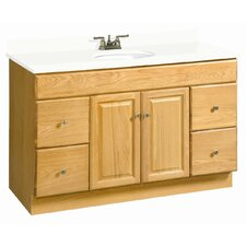 "Claremont 48"" Double Door Vanity Base"