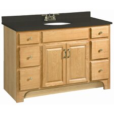 "Richland 48"" Double Door 4 Drawers Cabinet Vanity Base"