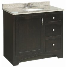 "Ventura 37"" Single Door Vanity Set"