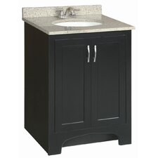 "Ventura 24"" Double Door Bathroom Vanity Base"