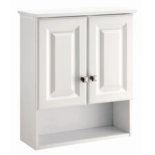 "Wyndham 21"" x 26"" Double Door Bathroom Wall Cabinet"