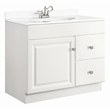 "Wyndham 37"" Single Door Vanity Set"