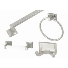 Millbridge 4 Piece Bathroom Hardware Set