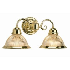 <strong>Design House</strong> Millbridge 2 Light Wall Sconce