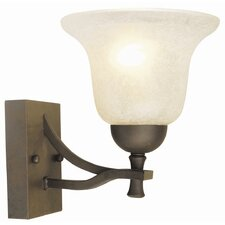 <strong>Design House</strong> Ironwood 1 Light Wall Sconce