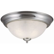 <strong>Design House</strong> Millbridge 2 Light  Flush Mount
