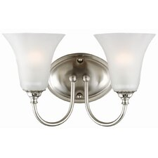 Hyde 2 Light Bath Vanity Light