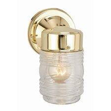 Jelly Jar 1 Light Outdoor Downlight Wall Lantern