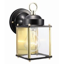 Coach 1 Light Outdoor Downlight Wall Lantern