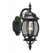 Canterbury 1 Light Outdoor Downlight Wall Lantern