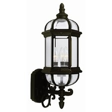 Gateway 1 Light Outdoor Uplight Wall Lantern