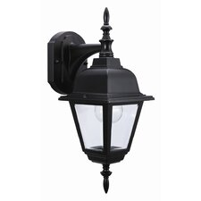 Maple Street 1 Light Outdoor Downlight Wall Lantern