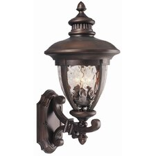 Tolland 3 Light Outdoor Uplight  Wall Lantern