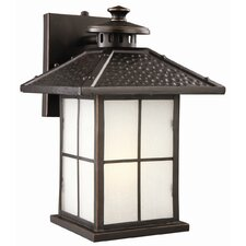 <strong>Design House</strong> Gladstone 1 Light Outdoor Downlight Wall Lantern